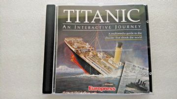 Titanic An Interactive Journey (PC Windows 1996)